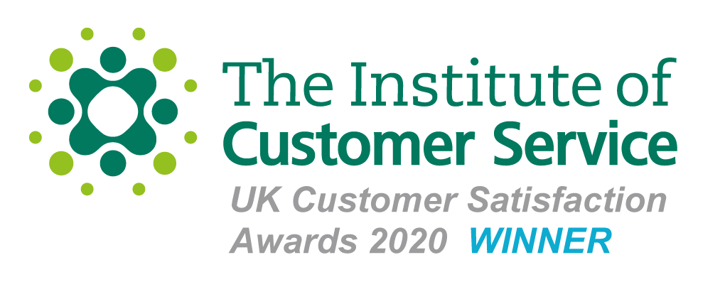 The Institute of Customer Service UK Customer Satisfaction Awards 2020 Winner