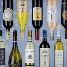 A selection of medal winning wines from Italy