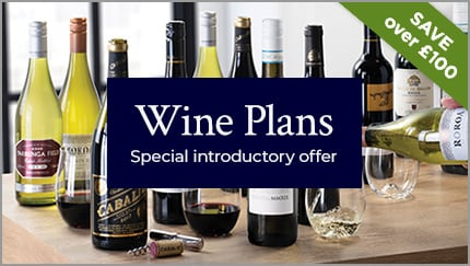 Wine Plans. Special introductory offer. SAVE £100.