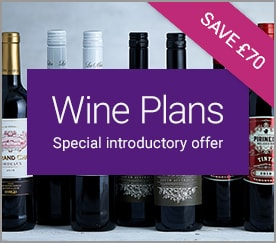 Wine Plans. Special introductory offer. SAVE £70.