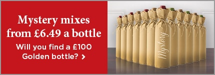 Mystery mixes from £6.49 a bottle - Will you find a £100 Golden bottle? >
