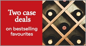 Two case deals on bestselling favourites