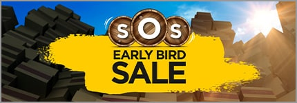 SOS Early bird SALE