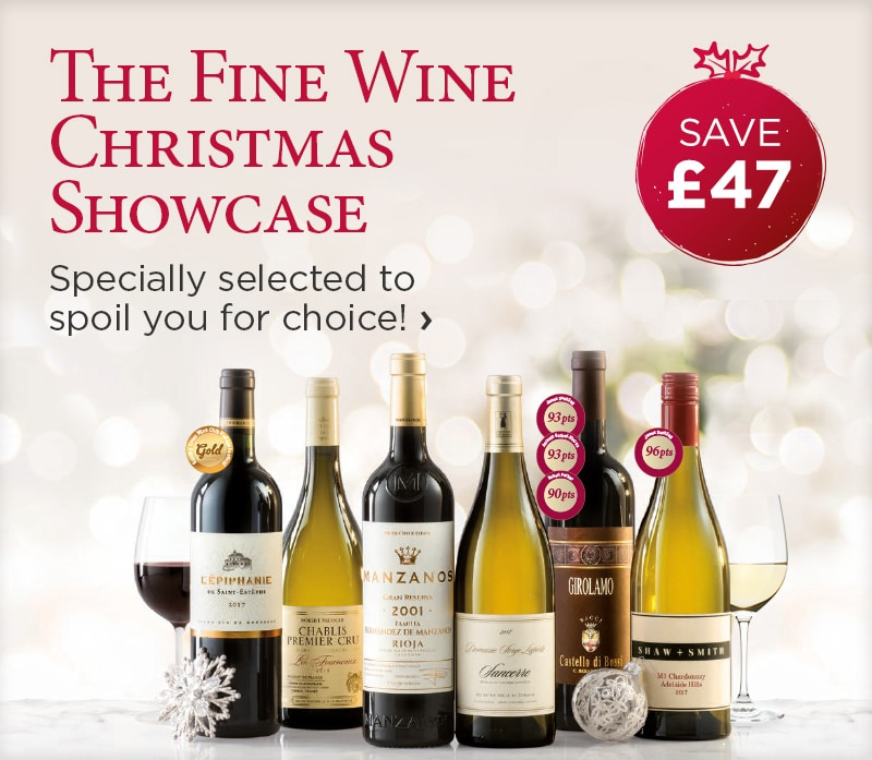 The Fine Wine Christmas Showcase - Specially selected to spoil you for choice! - save £47