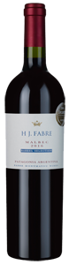 HJ Fabre Barrel Selection Patagonia Malbec 2016