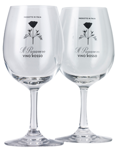 Il Papavero Glasses Pair