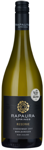 Rapaura Springs Marlborough Chardonnay Reserve 2017