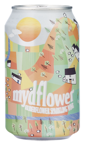 Mydflower Elderflower Sparkling Wine (330ml can) NV