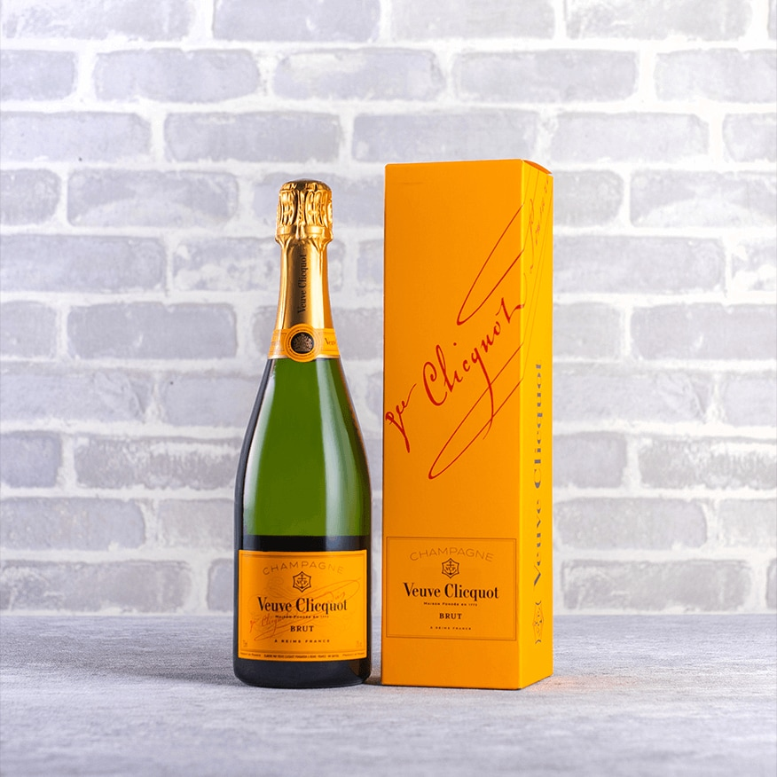 Champagne Veuve Clicquot Yellow Label Brut Gift NV
