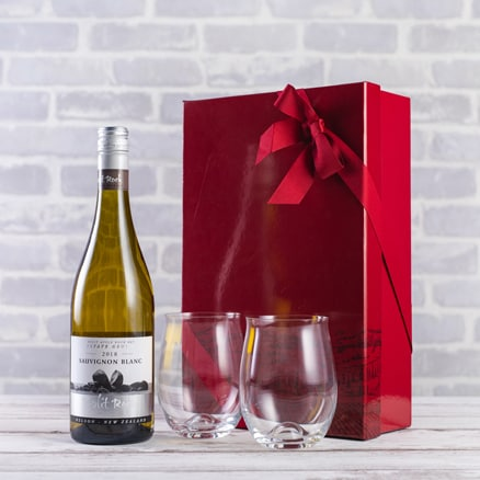 New Zealand Sauvignon & Dartington glasses Gift Set