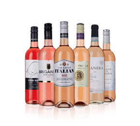 Great-value rosés Six